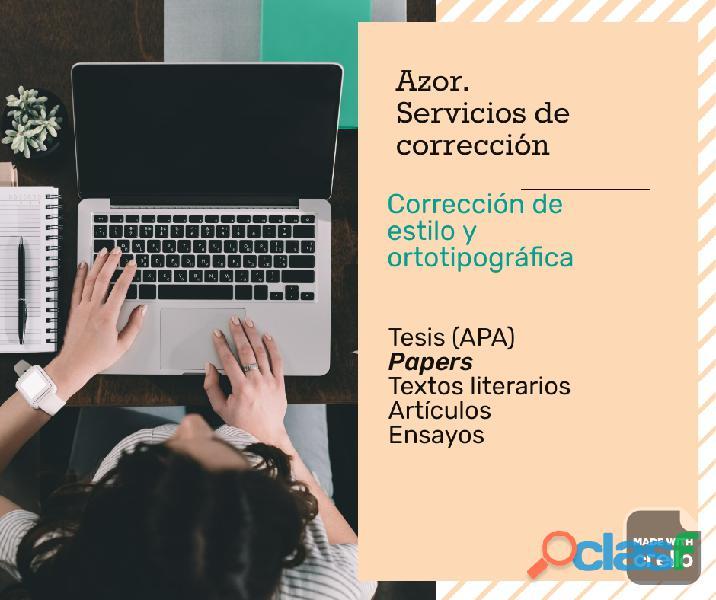 Corrector de tesis (APA) 0
