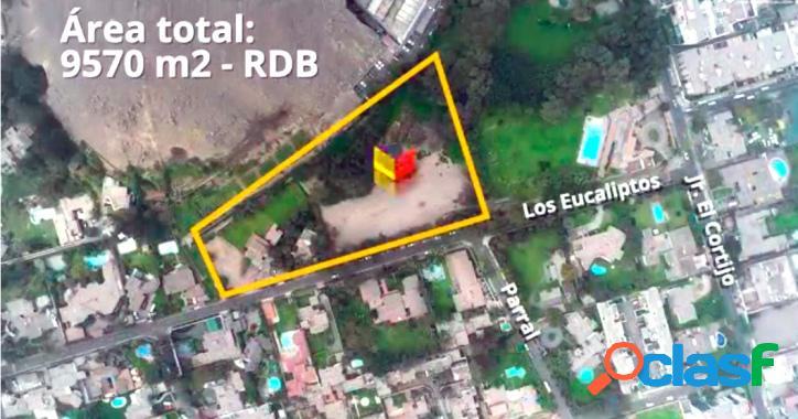 En venta gran terreno para proyecto residencial de lujo en zona consolidada Distrito de Surco 1