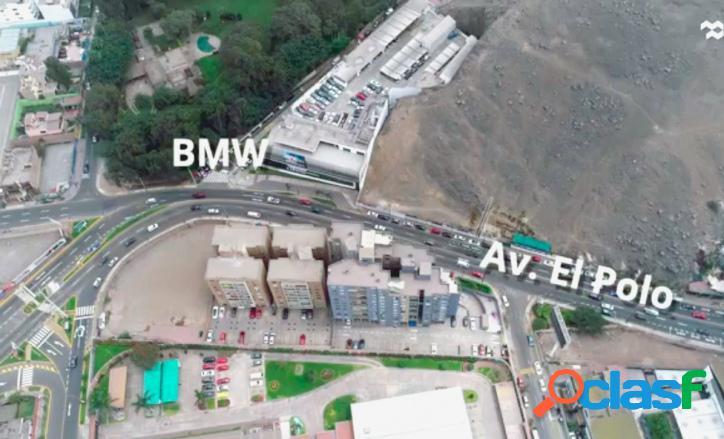 En venta gran terreno para proyecto residencial de lujo en zona consolidada Distrito de Surco 2