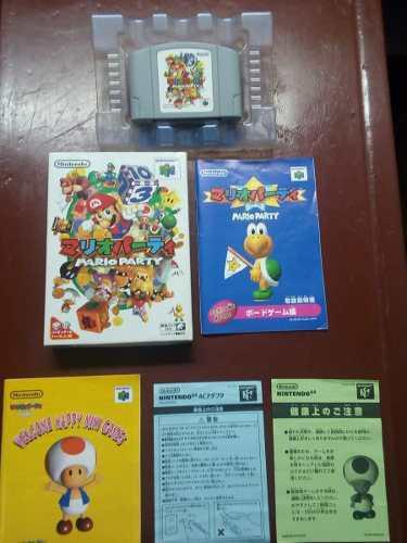 Juego N64 En Caja - Mario Party 1 0