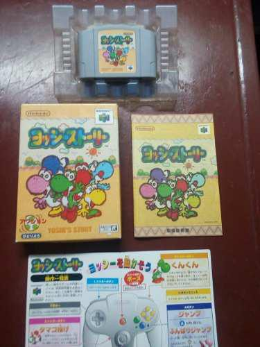 Juego Nintendo 64 En Caja Yoshi Sland Japonés 0