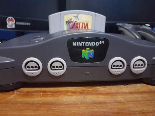 Nintendo 64 + The Legend Of Zelda Ocarina Of Time 0