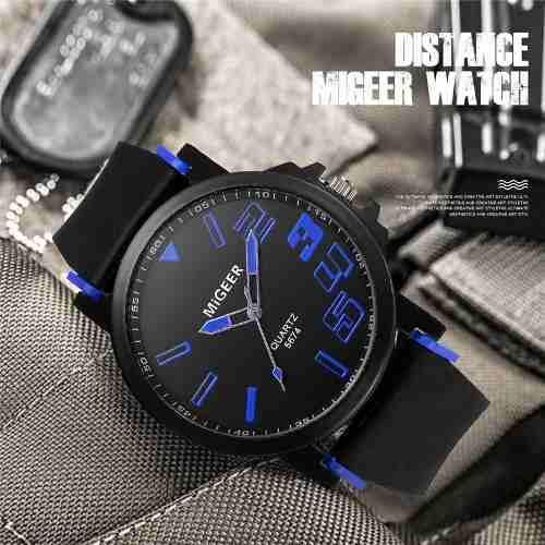 Reloj Hombre Migeer Nuevo A 35 Soles !! 0