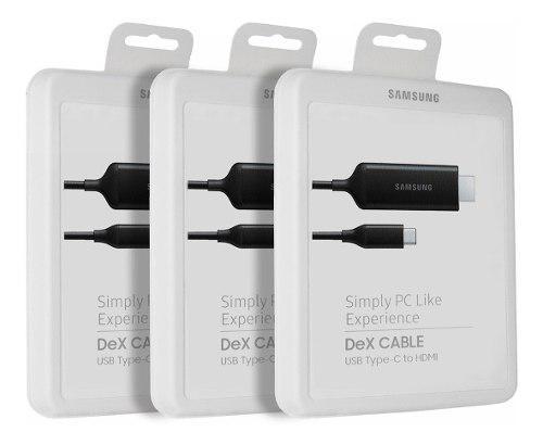 Samsung Dex Cable Usb Tipo C 4k Hdmi @ Galaxy S10 Note 10 9 0