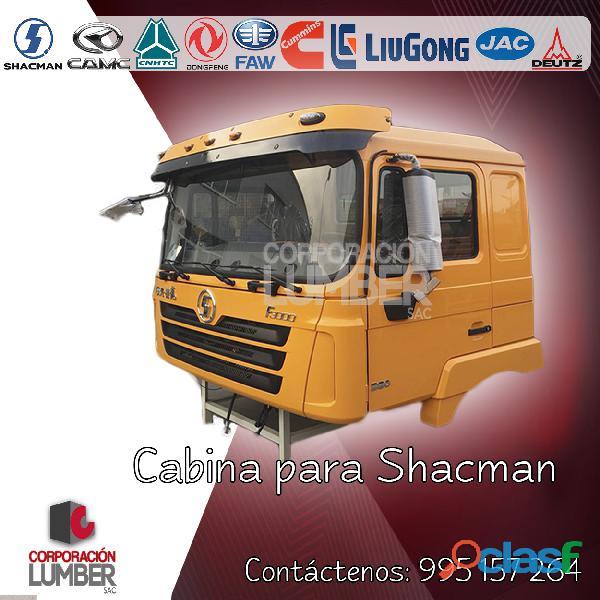 Cabina para shacman, howo, donfeng, camc 0