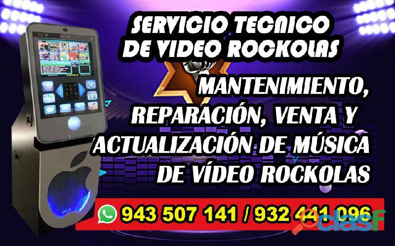 VÍDEO ROCKOLA REPARACIÓN Y VENTA 0