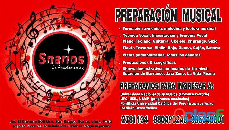 CLASES DE CANTO 11