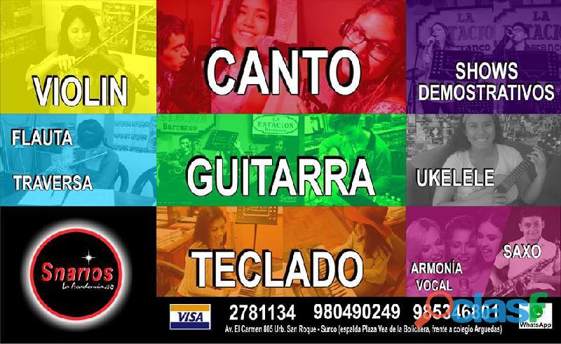 CLASES DE CANTO 13
