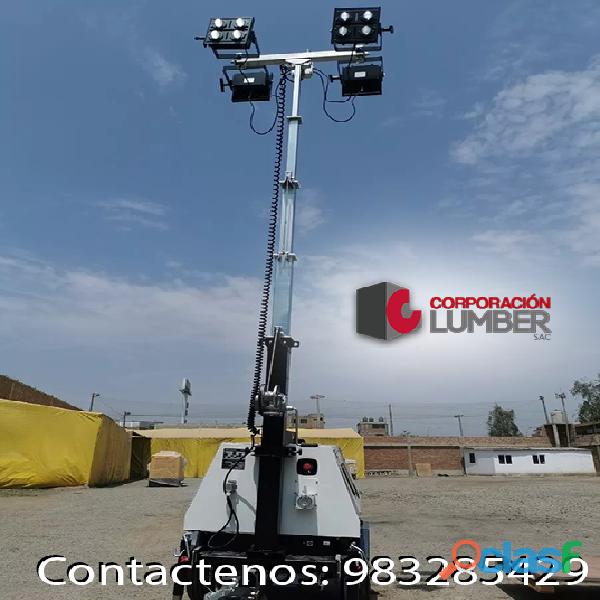 Alquiler de Torres de Iluminación LED / CORPORACION LUMBER 1