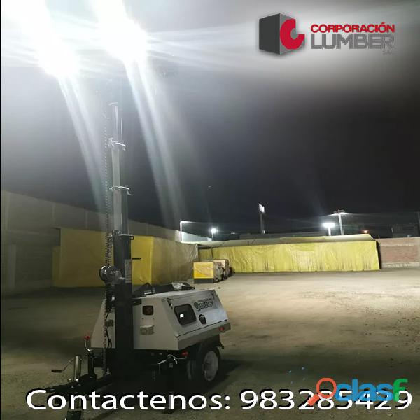 Alquiler de Torres de Iluminación LED / CORPORACION LUMBER 2