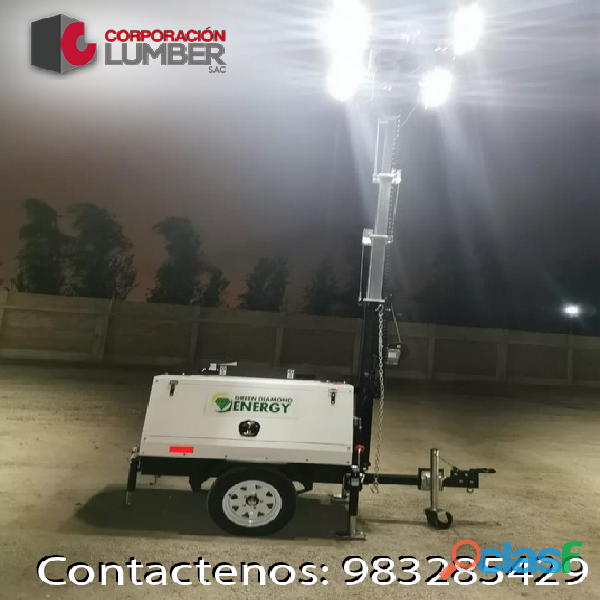 Alquiler de Torres de Iluminación LED / CORPORACION LUMBER 3