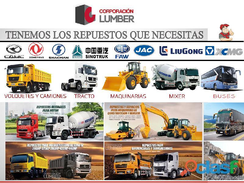 Venta de maquinarias Tienda en Lima Repuestos para Foton 1
