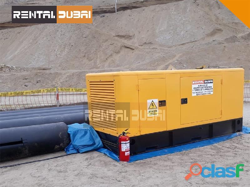 Alquiler De Grupos Electrogenos | RENTAL DUBAI 0