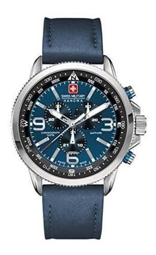 Militar Suizo 6-4224-04-003 Reloj Arrow Chrono Blue Para Hom 0