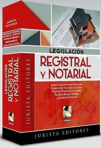 Legislacion Registral Notarial Derecho 2020 0