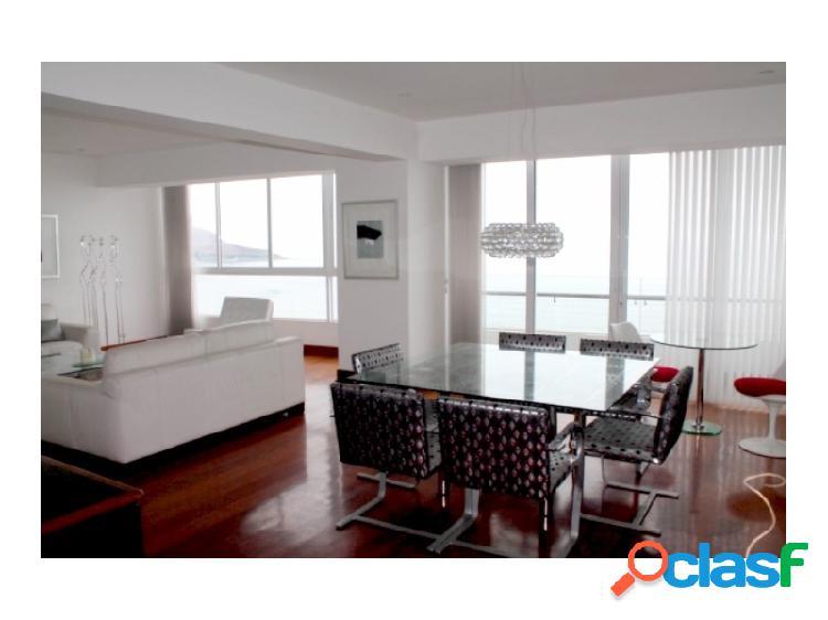 Departamento en Alquiler en Miraflores Exclusivo Vista al Mar 3 dormitorios amoblado Terraza 1