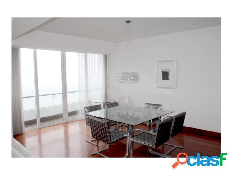 Departamento en Alquiler en Miraflores Exclusivo Vista al Mar 3 dormitorios amoblado Terraza 2