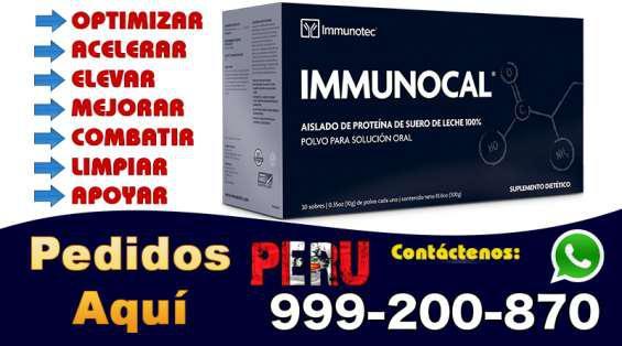 Immunocal peru bolivia ecuador telf 999-200-870 en Lima 0
