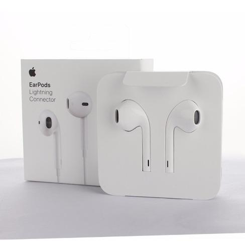 Audífonos Earpods iPhone 7 Lightning Apple 100% Original 0