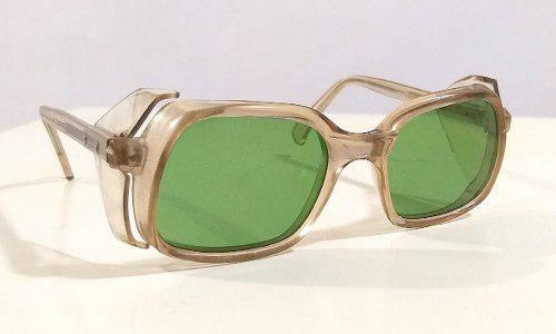 Gafas Sol Aviador Seguridad Inglaterra Año 70 Lentes Retro 0