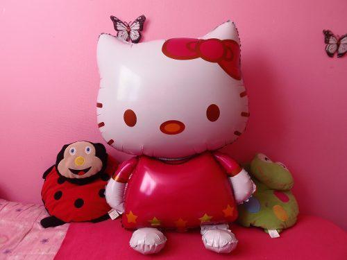 2 Globos Hello Kitty, Para Fiestas, Decoraciones Ó Regalo. 0