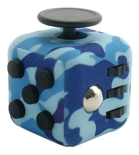 Fidget Cube Juguete Cubo Camuflaje Militar Super Entretenido 0