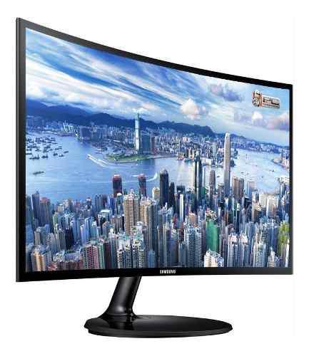 Monitor Samsung Curved Essential Cf390 24 Pulgadas 0