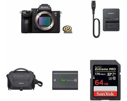 Sony A7 Iii Con Kit De Accesorios 0