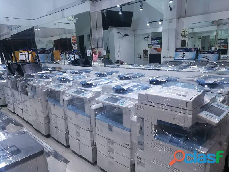 Venta fotocopiadoras opcion para imprimir, escanear, inversiones letich lima peru