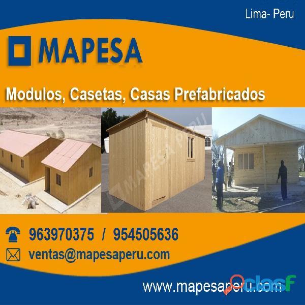 Almacenes módulos oficinas prefabricados para obras constructoras en lima peru