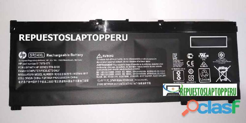Batería Para Hp Omen 15 Ce000 15 Dc0000 Sr04xl