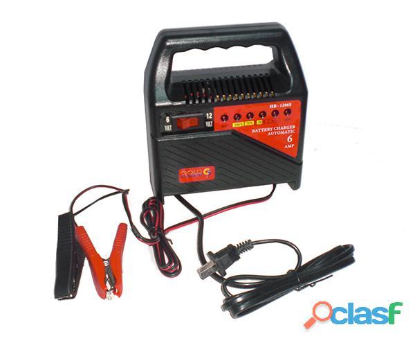 Cargador Automatico Especial Para Baterias Secas 6V 12v