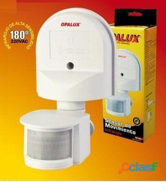 Sensor de movimiento infrarrojo st 10a detecta y enciende luces, sirenas, etc.