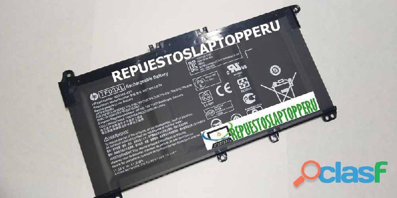 Bateria Hp Tf03xl 15 cc502la nuevo con garantía 1
