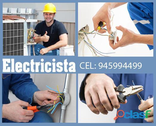 Tecnico electricista gasfitero pintor 945994499 lima