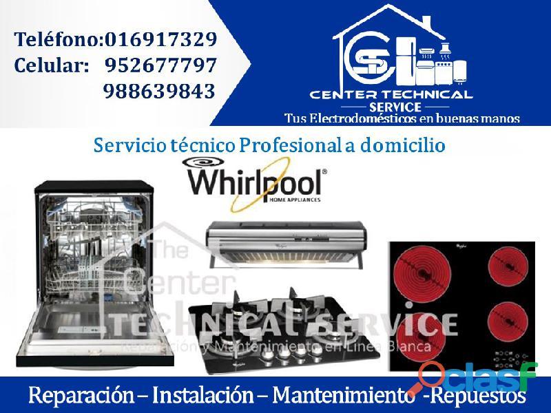 Reparación de cocinas whirlpool ◘ a domicilio 952677797