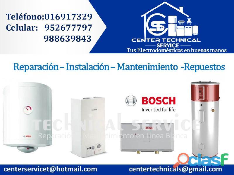 Servicios de instalación de termas electricas bosch telf.6917329(garantizado)