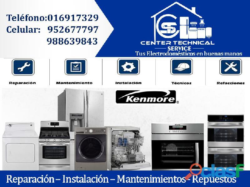 Reparación – lavadoras kenmore*(a domicilio)