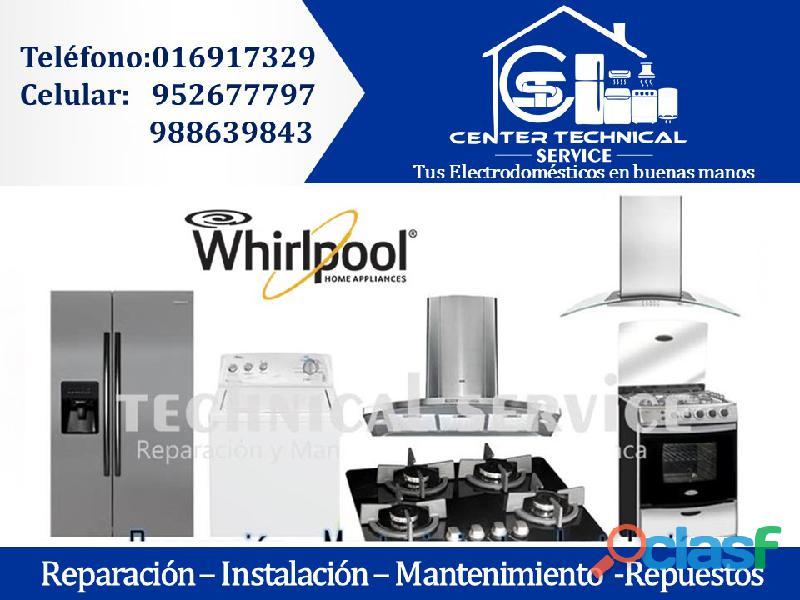 Servicio técnico en artefactos ♦6917329 • autorizado whirlpool(profesional) san borja