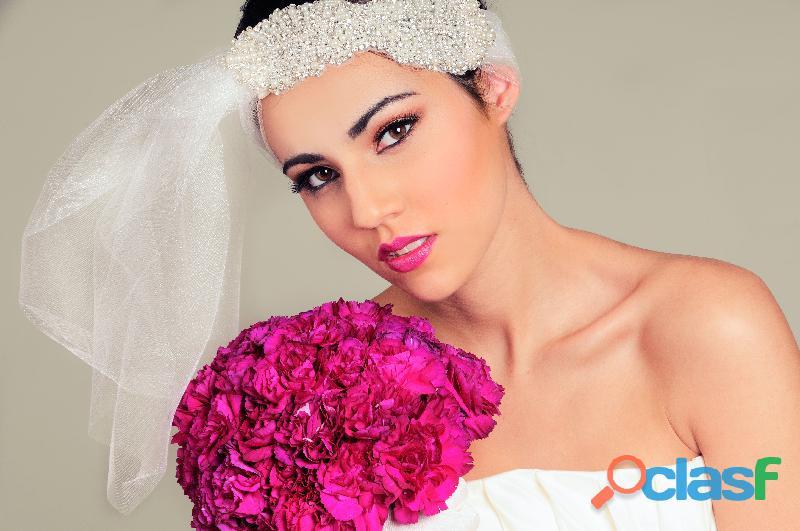 Maquillaje y peinado a domicilio para novias en lima