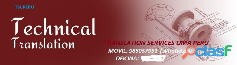 Ms traducciones intérprete y servicios de traducción más de 10 años de experiencia