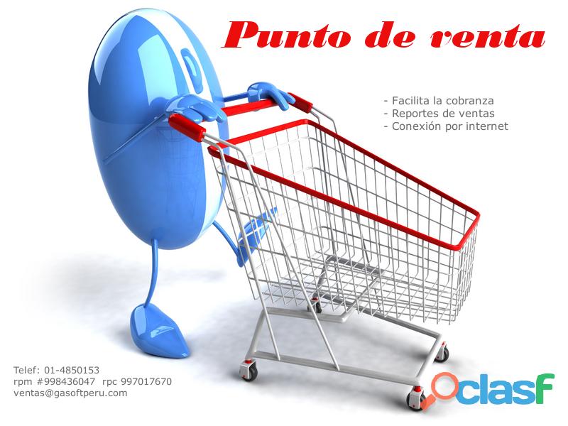 Sistema para ventas librerías, minimarket, farmacia, botica