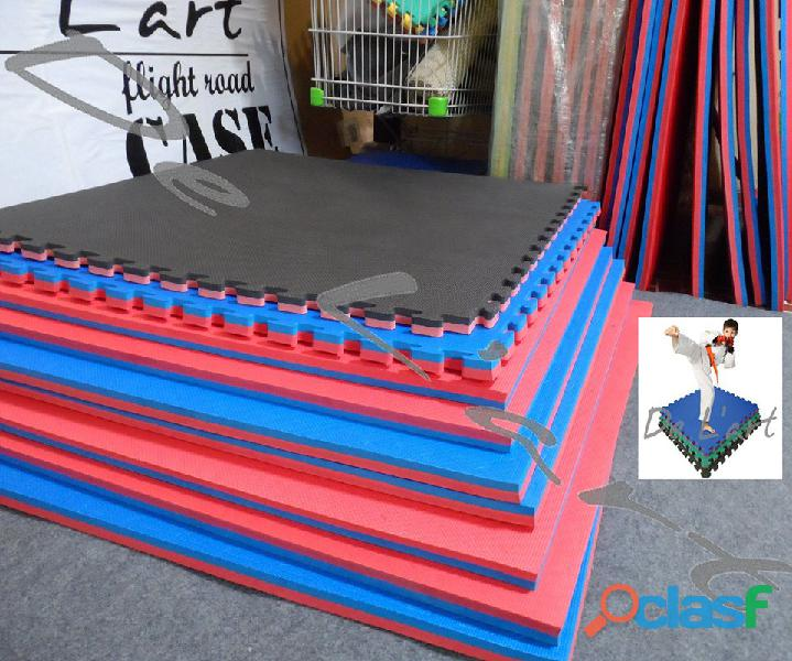 Peru goma eva baldosa piso dentado, tatami, gimnasio, artes marciales karate... de l'art