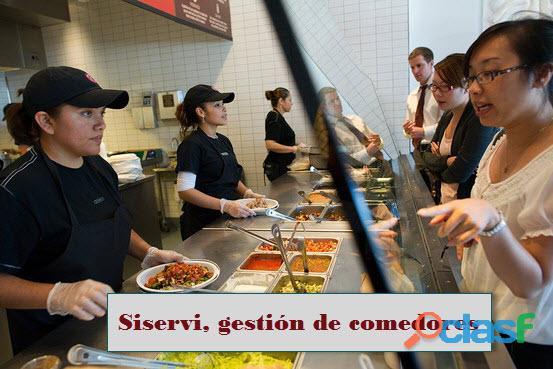 Sistema para comedores empresariales, catering, cafeterías comedor industrial colegios