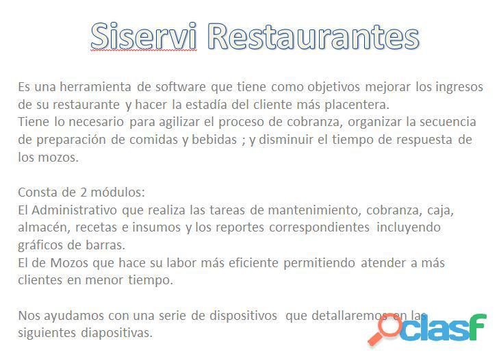 Sistema para restaurantes con tablet, pollerías, sandwicherías, bares, discotecas, karaokes 6