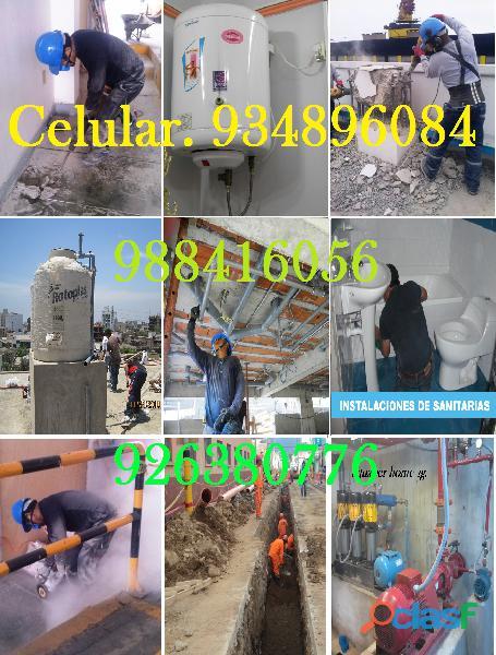 Gasfiteria / gasfitero electricista en su hogar / empresa atención las 24 horas 934896084