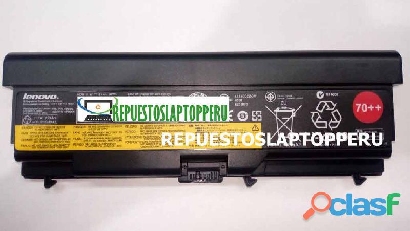 Batería lenovo t430 l420 l520 t530 w530 original 70++ 9 celdas