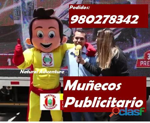 MUÑECO PUBLICITARIO, MASCOTA PUBLICITARIA PARA EVENTOS 1