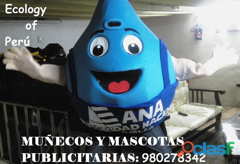 MUÑECO PUBLICITARIO, MASCOTA PUBLICITARIA PARA EVENTOS 4