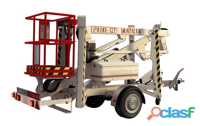 Plataforma elevadora remolcable Matilsa Parma12T